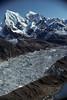 Ngozumpa Glacier, Gokyo Village, Himalayan, Mountains, Nepal, Asia, photo taken from Goyko Ri