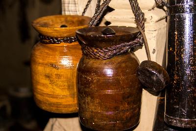 Museum Display: Urns