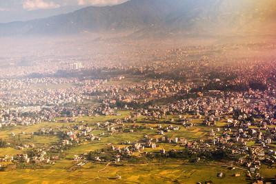 Hazy Kathmandu Morning