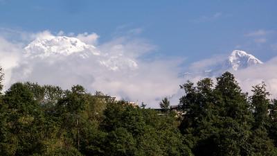 Ghandruk Skyline, South Annapurna & Hiunchuli