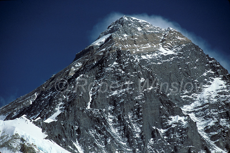 Mount Everest, World's Highest Mountain, 29,029 feet,8848 meters, Himalayan Mountains, Nepal, Asia,  Sagarmāthā (Nepali), Chomolungma or Qomolangma (Tibetan) or Zhumulangma (Chinese)