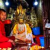 Prayer Station at the Monkey Temple in Kathmandu