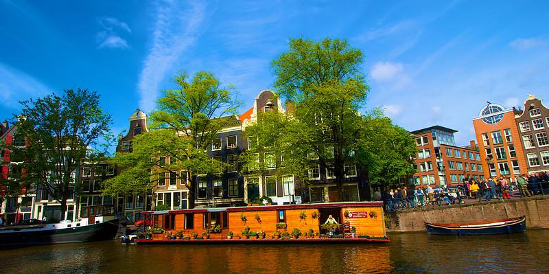 Houseboat, Amsterdam