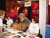 """Marina being attacked by a Wookie at """"Screenheroes"""" Convention in Utrecht, Netherlands Sept 25, 2005"""
