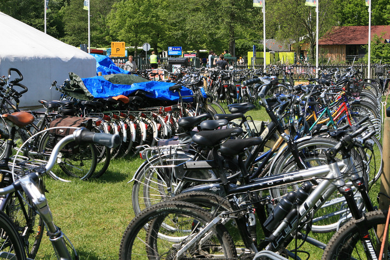 Netherlands is a country of bicycle riders...