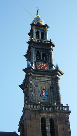 Westerkerk (Western Church). Near the Anne Frank house.