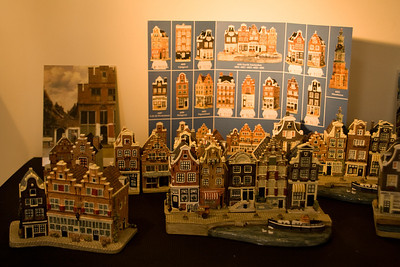 Little villages for decorating at christmas time