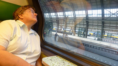 On Wednesday we took the train from Amsterdam to Haarlem and Delft for a daytrip.