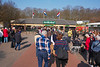 Keukenhof: Cees and Kate walking toward entrance