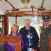 Arnhem: Open Air Museum: Marlene and Cees van der Mark with tram operators