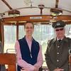 Arnhem: Open Air Museum: Peter with tram operators