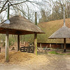 Arnhem: Open Air Museum: Adjustable hay wains, and barn from Vragender