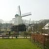 Arnhem: Open Air Museum: Wind-driven saw mill from tram