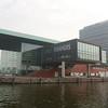Amsterdam: Muziekgebouw aan 't IJ facade with Bimhuis