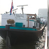 Amsterdam: Viking Baldur: Garbage boat alongside