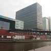 Amsterdam: Muziekgebouw aan 't IJ facade and bridge