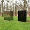 Kröller-Müller Museum: Reflections off sculpture