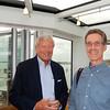 Antwerp: President's Reception: Ken Straat and Peter Van Demark