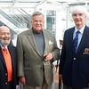 Antwerp: President's Reception: Bob Schenk, Charlie Zabriskie, and Colin Lazler