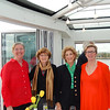 Antwerp: President's Reception: Liz Kane,Kate Van Demark, Donna Straat, and Barbara Lazler