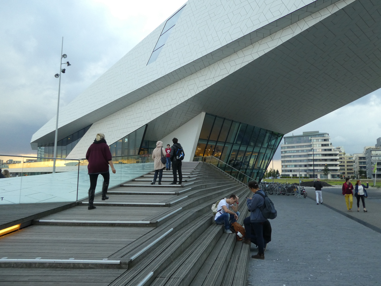 The Eye, a museum and education center for film.  We must come back here next time and spend the day!