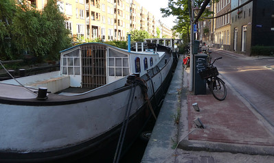 The houseboats, endlessly interesting and varied.
