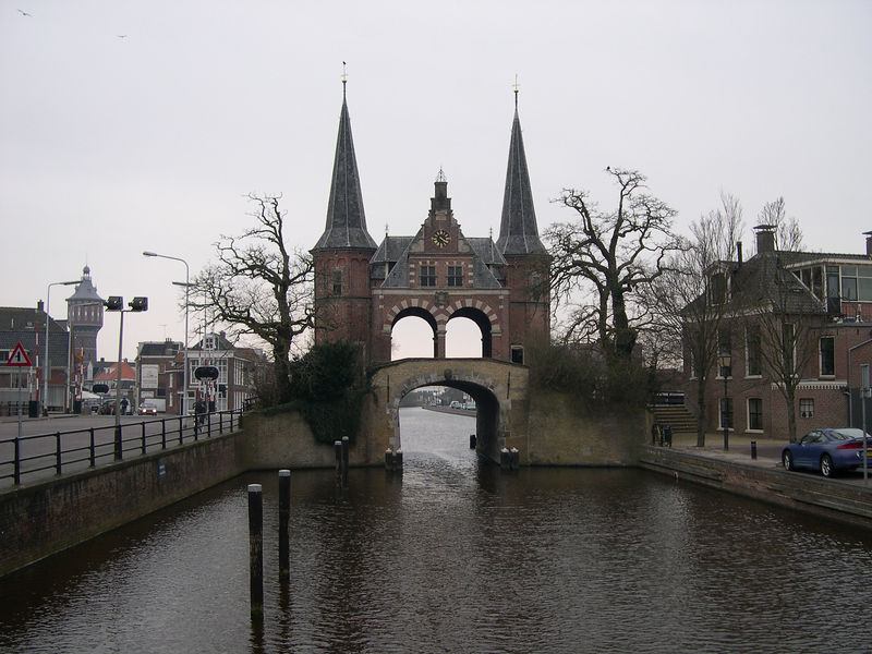 """The """"inside the city"""" view of the Waterpoort"""