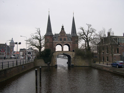 "The ""inside the city"" view of the Waterpoort"