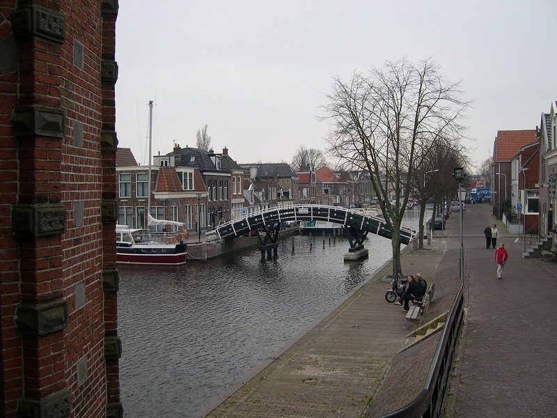 Canal view from the Waterpoort