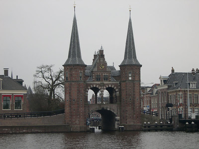 One of my goals for this trip - the Sneek Waterpoort (water gate)