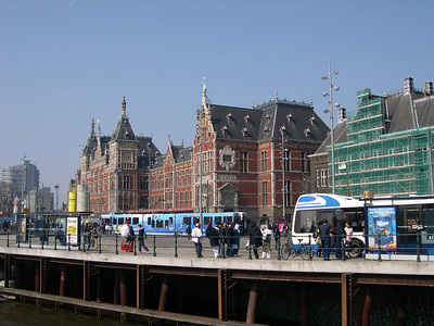 Amsterdam Central Train Station