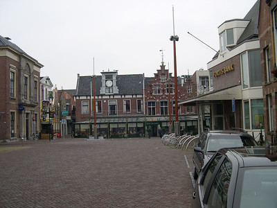 The town square and the Onder de Linden restaurant (great lunch)