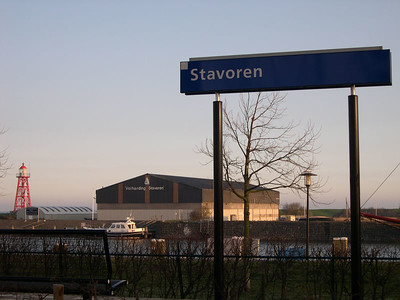 Stavoren, former seaport, present-day lakeport