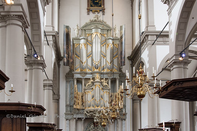 Westerkerk Cathedral and the Duyschot organ