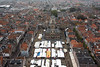 View from top of the Nieuwe Kerk (New Church) in Delft
