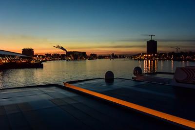 Evening at Ship Harbor