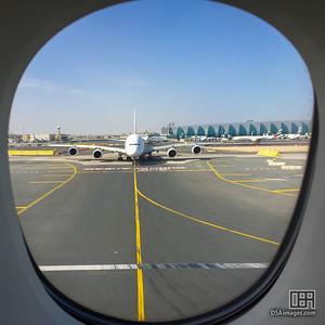 Departing Dubai