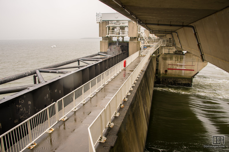 Delta Works storm surge barriers