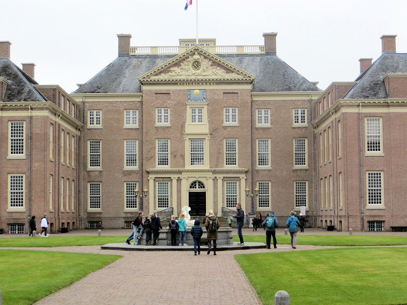 Palace entrance.