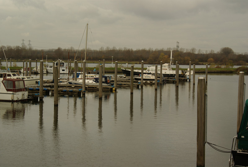 A harbor just outside of Roermond, The Netherlands.