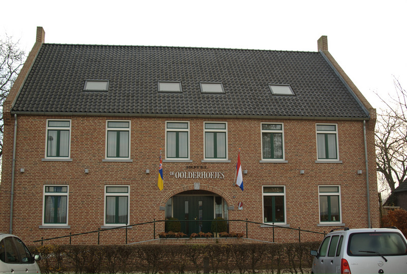 The hotel we stayed in, in Herte, Roermond.