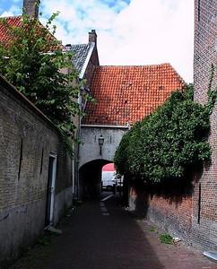 One of the many alleyways in Hoorn.