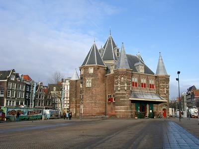 Die Waage in Amsterdam