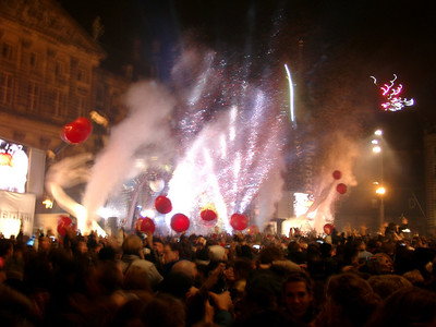 Celebrating the New Year 2014/15 in Amsterdam