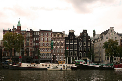 View across the River Amstel