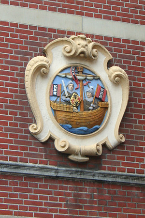 One of the many plaques that intrigued me in Amsterdam.