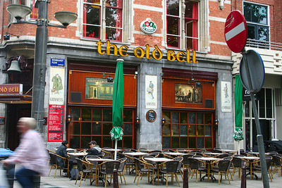 The Old Bell - one of the many pub/cafes on Rembrandtplein.