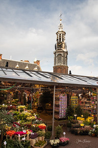 The Munttoren Tower, Amsterdam