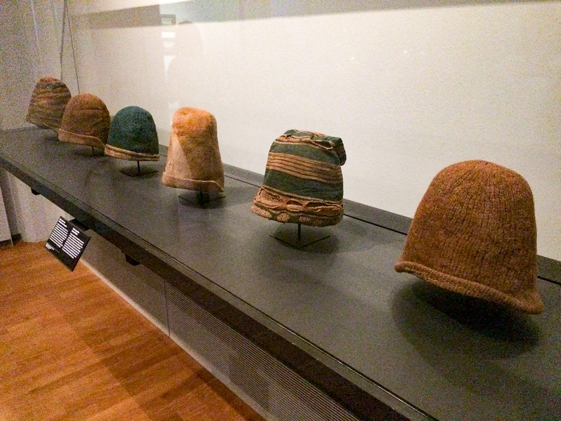 Woolen caps worn by Dutch whalers
