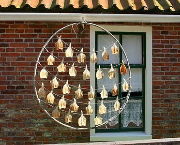 Method used to dry fish.